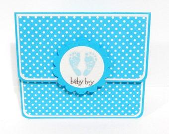 Baby Boy: Gift Card Holder, Gift Card Envelope, Gift Card Box, Money Holder