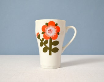 Vintage Laurids Lonborg Decal Design Porcelain Mug