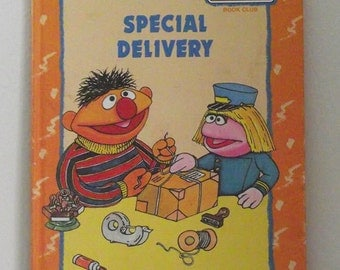 Special Delivery, Sesame Street Book - Special Delivery Book - Sesame Street Book from the 1990s - Sesame Street Book - Sesame Street