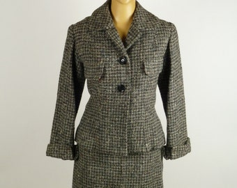 Original 1950's Tweed Flecked Suit