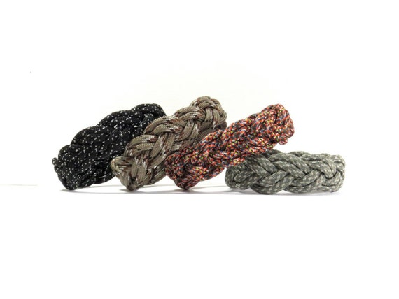 Pick Your Color, Camo, Turks Head Sailor's Paracord Rope Bracelet, Nantucket Beach, Traditional Nautical, Double Braid, Ship Knot, Summer