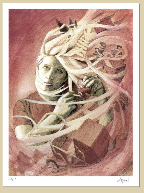 Rose: Signed and Numbered Giclee Print, Series of 10