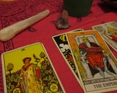 Tarot Reading (Past, Present, Future Spread)