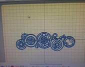 Doctor Who Gallifreyan Name Machine Embroidery Pattern