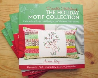 Doodle Stitching Holiday Motif Collection book by Aimee Ray