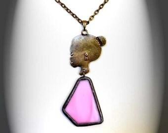 Meet Francine - Stained Glass Little Darling Pendants