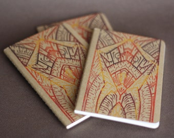 Deco Glass Pocket Moleskine Cahier Notebook