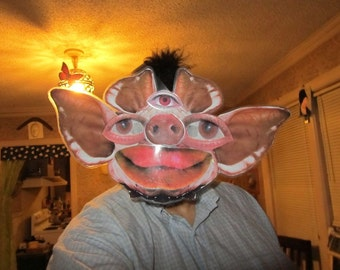 Warped Piggy Mask