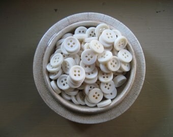 white shirt buttons set of 100