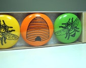 magnet set for the beekeeper. (3pk)