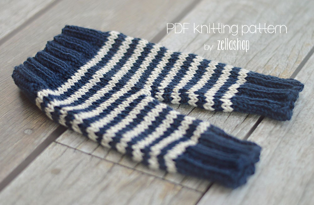 Knitting For Newborn Photography : Knitting pattern cozy baby newborn pants photography prop
