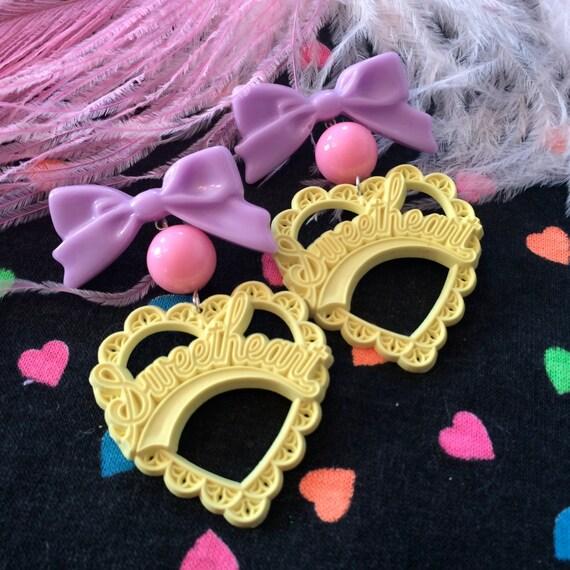 Pastel Sweetheart Earrings