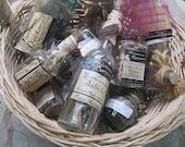 HALLOWEEN POTION bottles for display & decoration