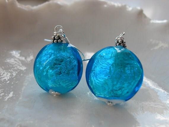 Venetian Murano Glass Earrings - Exclusive