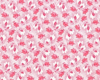 SALE - Color Me Happy - Bouquet in Pink: sku 10821-12 cotton quilting fabric by V and Co. for Moda Fabrics - 1 yard