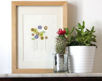 Wildflower Print, 5x7 Print,  8x10 Print