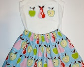 Private listing for Francine England // APPLES and PEARS applique shirt