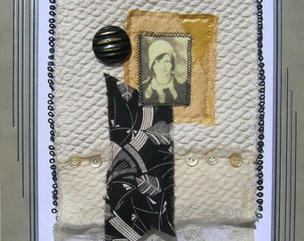 Hat Girl - Deco Styled Quiltie