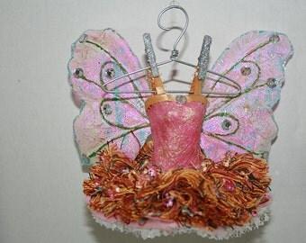 Fairy Ornament, Fairy Dress, Fairy Wings, Fairy Doll Clothes, Ballerina, Fairy Mobile Dress