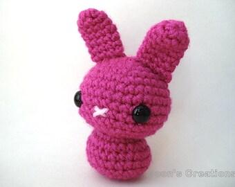 Amigurumi Doll Hair Bun : Cream Moon Bun Amigurumi Bunny Rabbit by MoonsCreations on ...