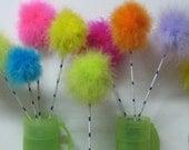 Truffala, Dandelion, feather puff, wishie,Truffala,,birthday,nursery,lorax, horton,centerpiece,cake topper,Tinkerbell,Fairy, flower girl