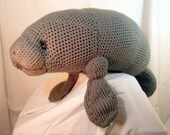 Manatee Amigurumi Stuffed Toy Plush Crochet Pattern