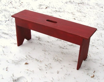 Rustic Bench, Entryway Bench, Mudroom Bench, Garden Bench, Wood Bench,  Cottage