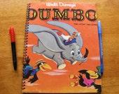 Disney DUMBO Record Album Cover Journal Sketchbook - Vinyl LP Recycled