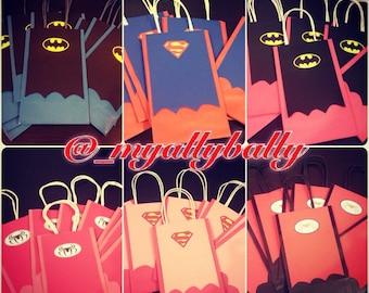 Super Hero Goody Bags