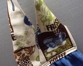 Hanging Dish Towel Latte Fabric