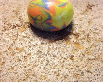 Polymer Clay Ring, Bubble Statement Ring