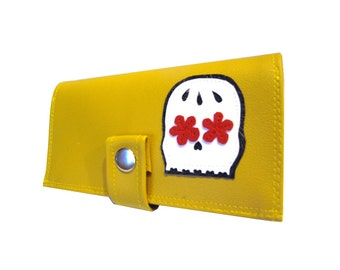 Muerto ) Pocketbook Slash Checkbook Holder