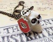 A Kiss From The Undead- Skull Necklace