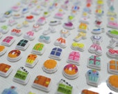 Cute Kawaii Puffy Japanese Sticker - Dear Diary Happy Days! (1300) by Mind Wave Inc.