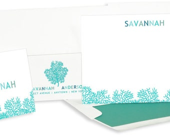 Coral Reef stationery