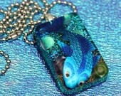 Lippy - Resin Fish Necklace