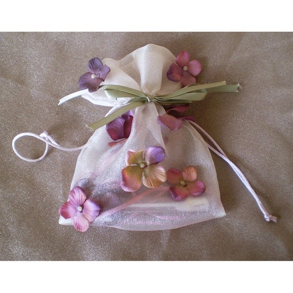 Faerie fairy drawstring pouch bag bubbles girls gift women's pixie costume accessory