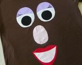 Mrs Potato Head Shirt (Adult)