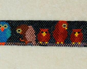 Night Owls Bracelet PATTERN