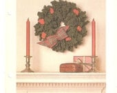 Crocheted Christmas Wreath Pattern