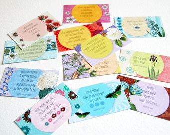 24 SHE Inspiration Cards {Full Set} - 24 Cards - Card Set - Mini Cards - Inspiration Cards