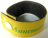 Book Binding Cuff/Bracelet/Bookmark: Annemarie's Cookingschool Cookbook