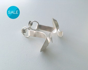 20% Off sale - KNOT / Sterling silver earrings
