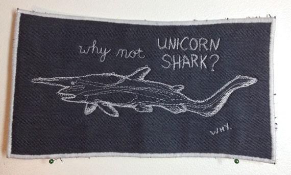 goblin shark thread sketch