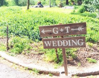 Arrow Wedding Signs, Rustic Outdoor Weddings, Initial Signs, Directional Sign, Vintage Wedding Signs, Road Signs, Arrow Sign, Park Wedding