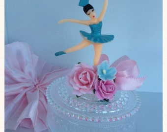 Birthday Party Decoration Ballerina Birthday Party Trinket Box for Ballet party