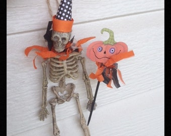 Happy Skeleton Halloween Ornament Halloween Decoration