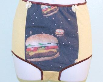 high waist cosmic hamburger underwear