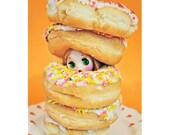 donut blythe print 8 x 12 DOUGHNT EAT ME