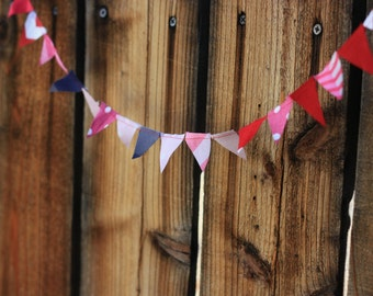 Teeny Tiny Bunting of the Month Club 6 month Membership